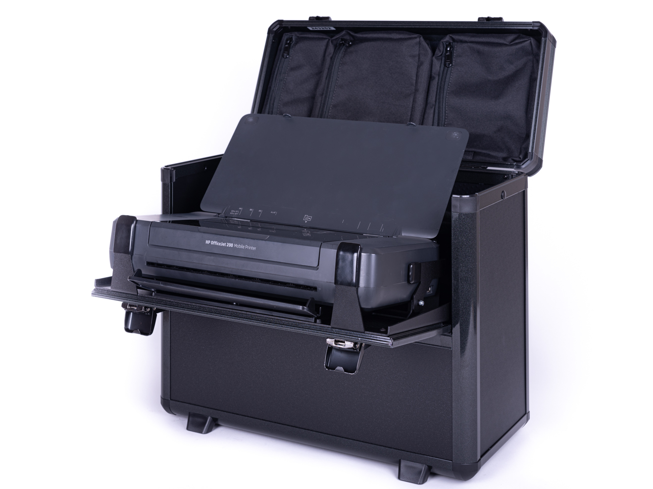 7 0998 Mobile Office HP 200 printer notebookkoffer